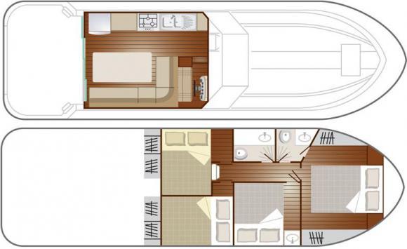 Hausboot Nicols 1150 in Luebz ausleihen-32837-0