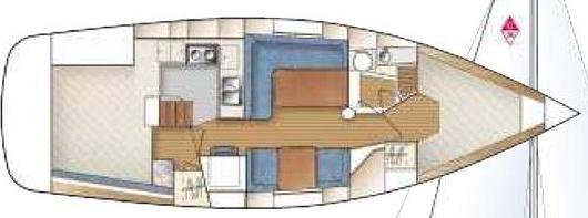 Yacht Catalina 36 for rent in Marina Kungsviken-23182-0