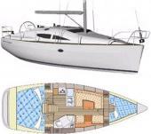 Sailing yacht Elan 344 Impression for rent in Dubrovnik-67317-0