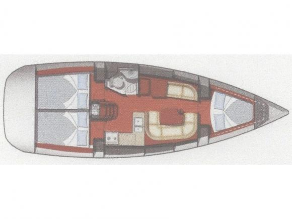 Yacht Sun Odyssey 36i in Bodrum mieten-35149-0