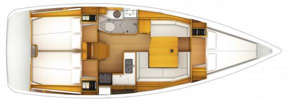 Yacht Sun Odyssey 379 in Road Town ausleihen-33757-0