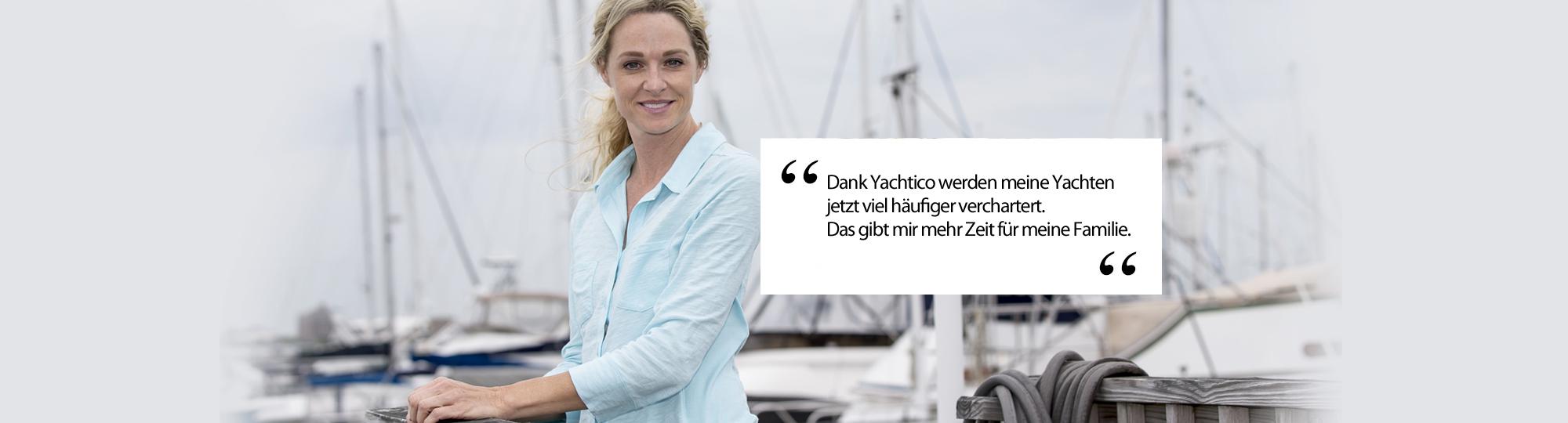 Yachten vermieten auf YACHTICO.com