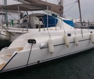 Katamaran Athena 38 Yachtcharter in Marina Alimos Kalamaki