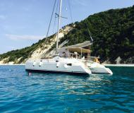Katamaran Athena 38 Yachtcharter in Marina Lefkas