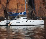 Catamaran Bahia 46 for charter in Marina Villa Igiea