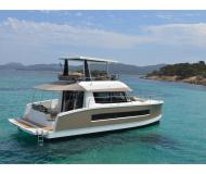Cat Fountaine Pajot MY 37 for hire in Les Marines de Cogolin