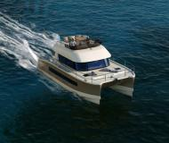 Catamaran Fountaine Pajot MY 37 available for charter in ACI Marina Trogir