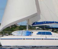 Cat Freebird 50 for charter in Rock Sound Harbour