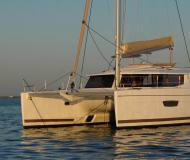 Catamaran Helia 44 available for charter in Compass Point Marina