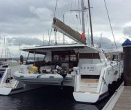 Katamaran Helia 44 chartern in Marina Kotor