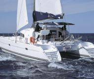 Cat Lagoon 380 for hire in Finikas