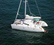 Cat Lagoon 380 available for charter in Marina Punat