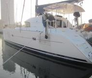 Catamaran Lagoon 380 available for charter in Petcharat Marina