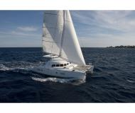 Cat Lagoon 380 for rent in Marina Kotor