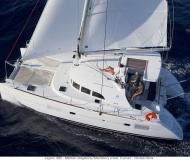 Catamaran Lagoon 380 available for charter in Marina Le Marin