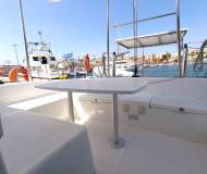 Catamaran Lagoon 380 for charter in Marina Parikia Port