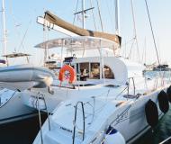 Cat Lagoon 380 for charter in Alimos Marina Kalamaki