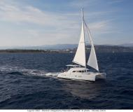 Cat Lagoon 380 available for charter in Port Louis Marina