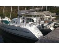 Cat Lagoon 380 S2 available for charter in Marina Bas du Fort