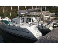 Cat Lagoon 380 S2 for charter in Pointe a Pitre