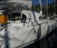 Catamaran Lagoon 380 S2 for charter in Port Goecek Marina