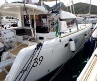 Cat Lagoon 39 for rent in Port Louis Marina