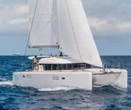 Cat Lagoon 39 available for charter in Marina di Portisco