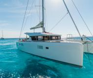 Cat Lagoon 39 available for charter in Kos Marina