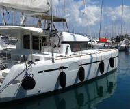Katamaran Lagoon 39 chartern in Gouvia Marina