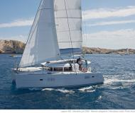 Cat Lagoon 400 S2 for charter in Marina Le Marin
