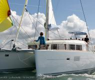 Catamaran Lagoon 400 S2 for charter in Marina Le Marin