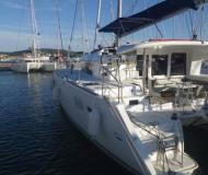 Cat Lagoon 400 for charter in ACI Marina Trogir