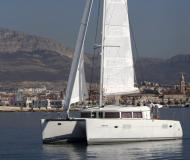 Cat Lagoon 400 available for charter in Eden Island Marina