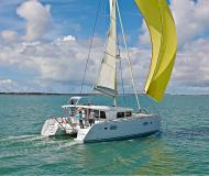 Catamaran Lagoon 400 S2 available for charter in Marina Alboran