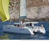 Cat Lagoon 400 S2 for charter in Marina di Nettuno