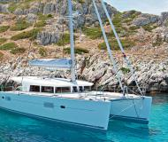 Catamaran Lagoon 400 S2 available for charter in Milazzo