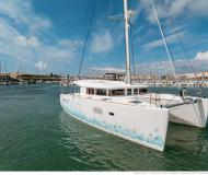Cat Lagoon 400 S2 available for charter in Marina de La Paz
