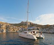 Catamaran Lagoon 400 S2 available for charter in Furnari