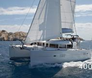 Cat Lagoon 400 S2 for charter in Lefkas Marina
