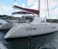 Cat Lagoon 410 for hire in Castries