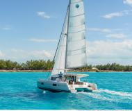 Cat Lagoon 42 for rent in Marina Le Marin