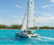 Cat Lagoon 42 available for charter in Marina Seget Donji