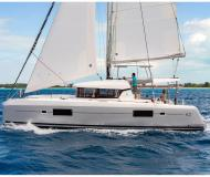 Cat Lagoon 42 available for charter in Marina Kastela