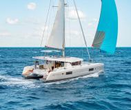 Catamaran Lagoon 42 available for charter in Marina Veruda