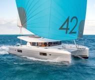 Kat Lagoon 42 Yachtcharter in ACI Marina Slano