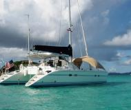 Catamaran Lagoon 42 available for charter in Le Marin