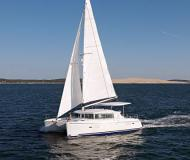 Cat Lagoon 420 available for charter in Tamarind Yacht Club