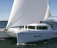 Cat Lagoon 420 for charter in Marina Dalmacija