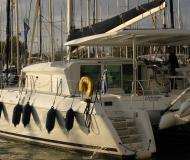 Cat Lagoon 420 for hire in Port Lavrio