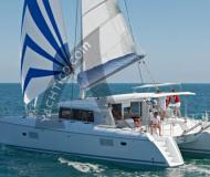 Catamaran Lagoon 421 available for charter in Marina di Scarlino
